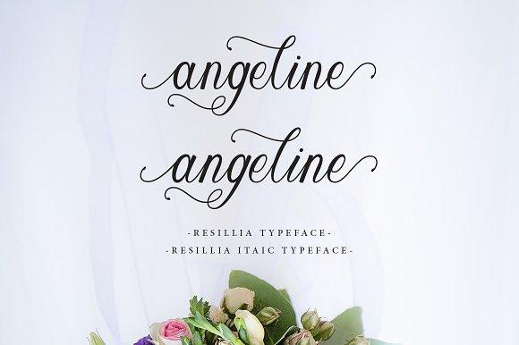 Resillia Script Font