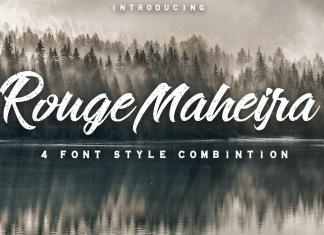 Rouge Maheira Script Font
