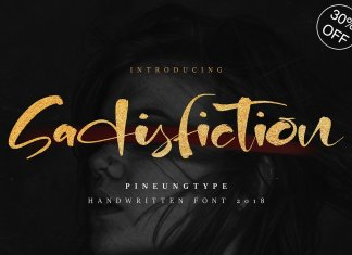 Sadisfiction Font