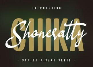Shoneratty Chika Font