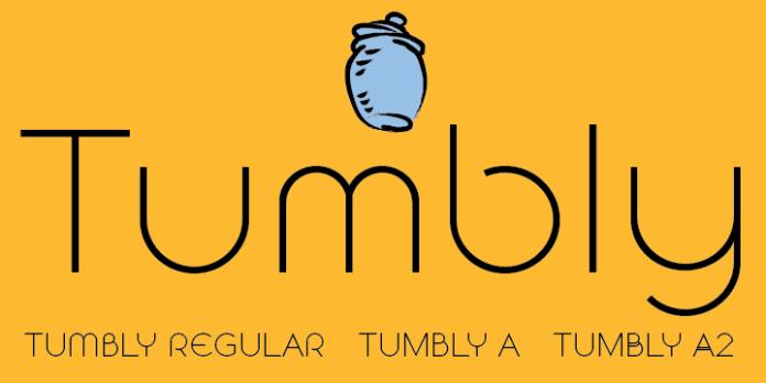 Tumbly Font Family