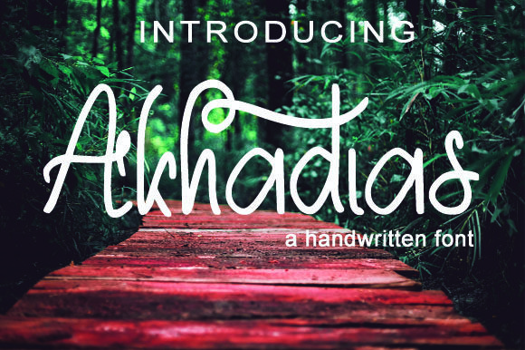Akhadias Font