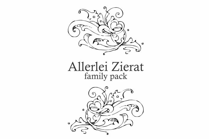 Allerlei Zierat (PACK 5 FONTS)Symbol Font