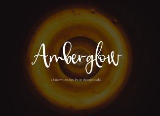 Amberglow Font