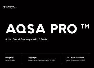 Aqsa Grotesque Pro Font