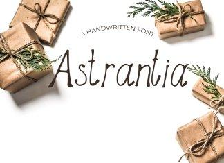 Astrantia Font