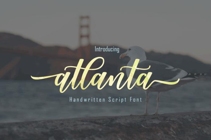 Atlanta Scirpt Font