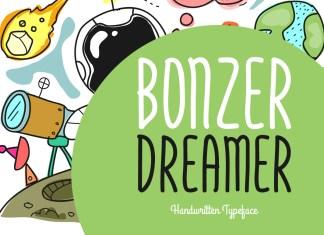 Bonzer Dreamer Regular Font