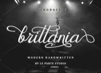 Brittania Modern Handwritten