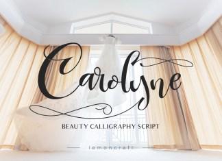 Carolyne Font Script
