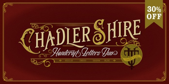 Chadlershire Font Family