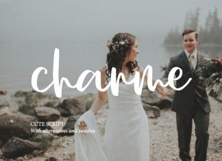 CHARME SCRIPTS cript Font