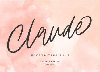 Claude Handwritten Font