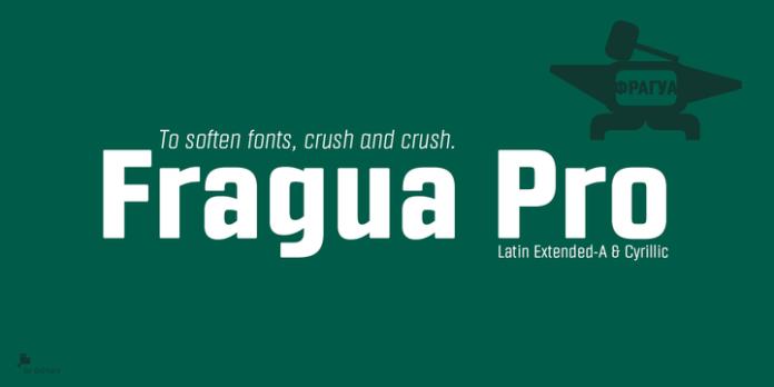 Fragua Pro Font Family