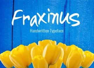 Fraxinus Font