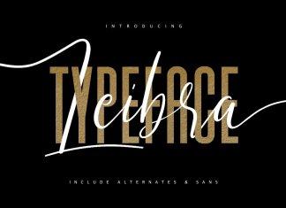 Leibra Typeface Font