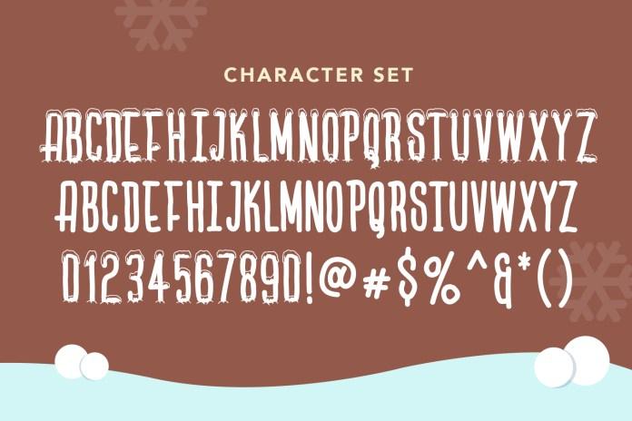 Lets Ski Other Font