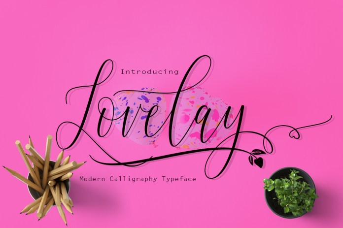 Lovelay Script Font