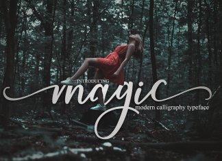 magic script Font