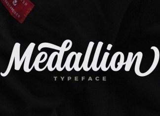 Medallion Script Font