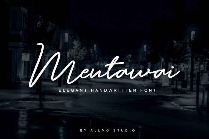 Mentawai Script Font