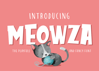 Meowza Other Font