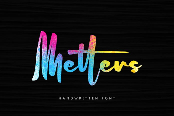 Metters Font