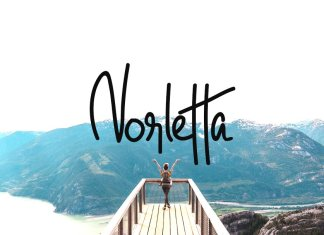 Norletta - Handwritten Luxury Font