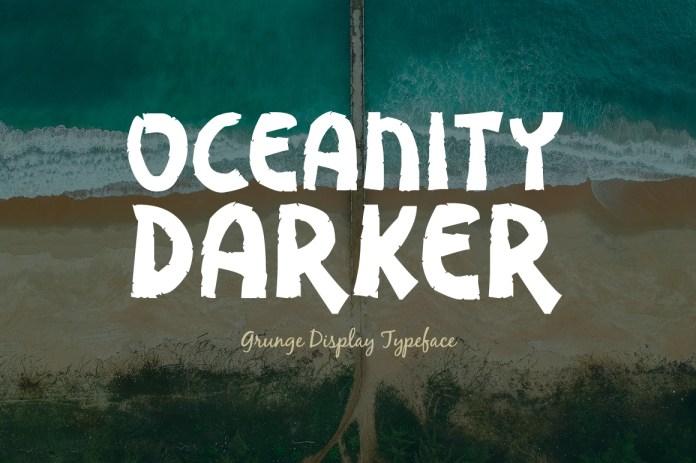 Oceanity Darker Regular Font