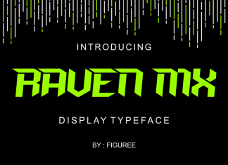 Raven Mx Font