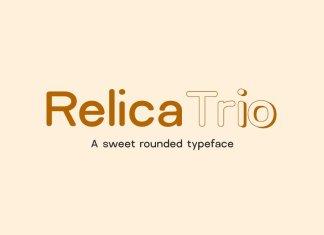 Relica Trio Font