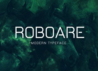 Roboare Typeface