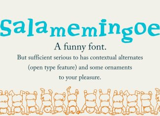 SalamemingoeOther Font