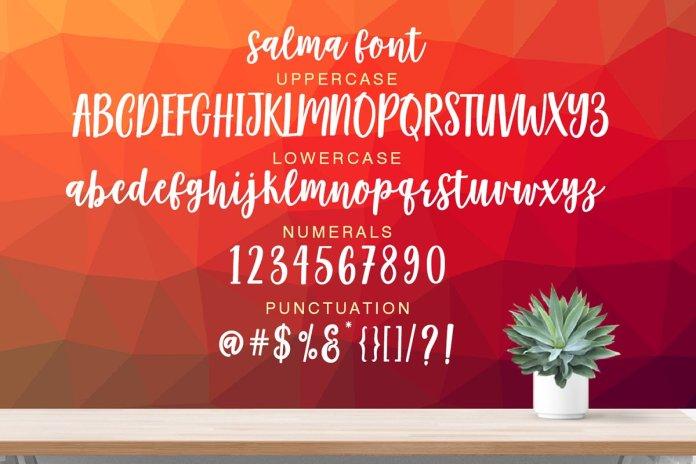 Salma Desire Font