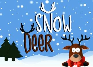 Snow DeerRegular Font