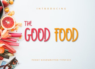 THE GOOD FOOD Script Font