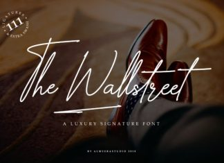 The Wallstreet Font
