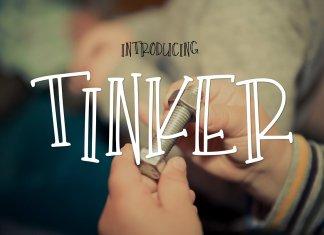 Tinker Blackletter Font