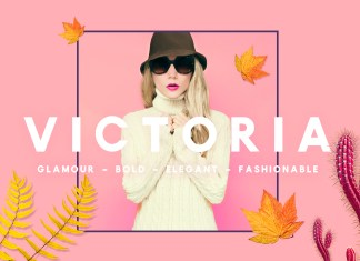 Victoria - Glamour, Elegant Headline