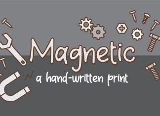 ZP Magnetic Regular Font