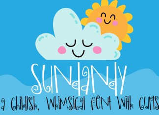 ZP Sundandy Regular Font