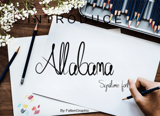 Allabama Font