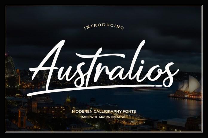 Australios Script Font