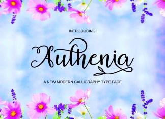 Authenia Script Font