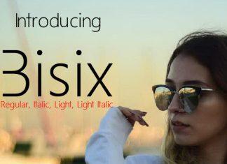 Bisix Script Font