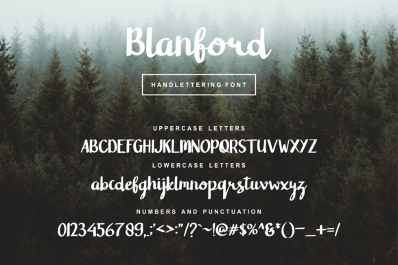 Blanford Font