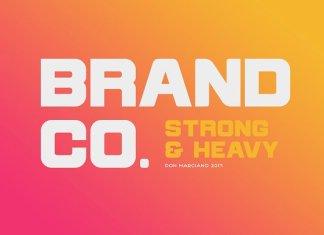 Brandco - Font