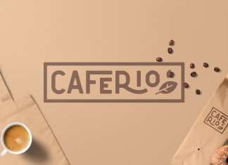 Caferio - The Florest Typeface