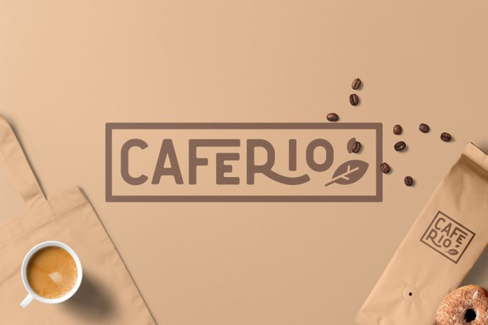 Caferio - The Florest Typeface