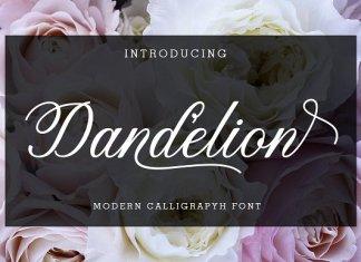 Dandelion Script Font